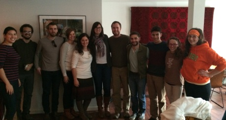 lab lunch Dec 2014